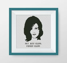 BUY 2, GET 1 FREE! Monica Geller. Friends cross stitch pattern, pdf counted cross stitch pattern, Friends tv show, P200