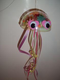 "Letter of the Week-Letter ""J"" craft--Jellyfish (Letter J)"