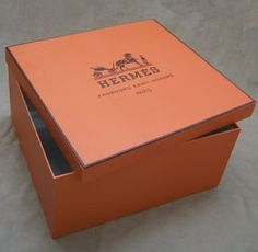 hermes orange boxes - Google Search