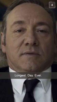 If Frank Underwood Had Snapchat