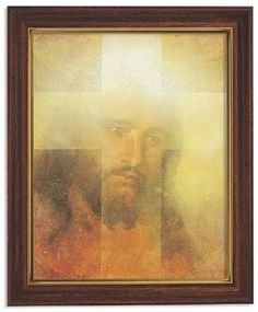 The Face Of Jesus Christ Print in Frame by Artist Zdinak Christian Picture Religious Photos, Religious Gifts, Religious Art, Maria Jose, Christian Pictures, Jesus Face, Jesus Pictures, Spiritual Gifts, Inspirational Gifts