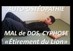 Neck pain: Osteopathic Self treatment technique by Cervical Axial Traction Self Treatment, Pilates Video, Sports Massage, Qigong, Yoga Videos, Neck Pain, Poses, Tai Chi, Baby Care
