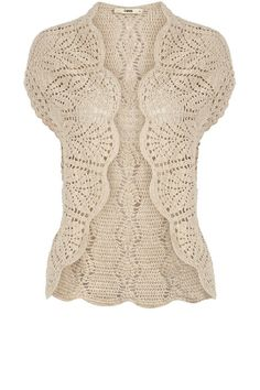 Crochet - Cardigan. Gorgeous!