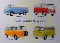 KOMBI VW WAGON VAN Car Nostalgic