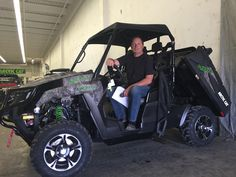 This is Calvin's second Ralph's Motorsports Arctic Cat! Thanks for being such a good customer Calvin! Happy Riding!