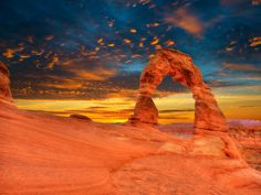 size: Photographic Print: Arches National Park Delicate Arch Sunset in Moab Utah USA Photo Mount by holbox : Moab Utah, Utah Usa, Arches Np, Delicate Arch, Earth Photos, Us National Parks, Go Camping, Places To Go, The Incredibles