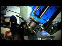 Beveling machine - YouTube
