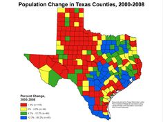 Population is bigger in Texas.   54 Things That Are Definitely Bigger In Texas
