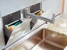 Um sistema inteligente para guardar as esponjas