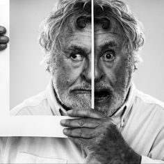Gray Jolliffe by Betina La Plante, via 500px: Thus image links to our topic as it shows a time change. This is as the two images are clearly taken at different times which highlights the past (the photo) and the present (the man holding the picture).