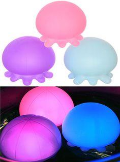 Japanese Jellyfish Mini Bath Light Set at ShopPlasticland.com