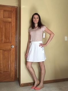LOVE this Stitch Fix outfit from my most recent box! But what do I keep? Help me decide!