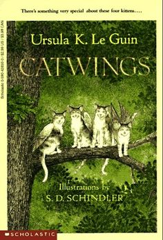 Catwings by Ursula K. Le Guin | 35 Childhood Books You May Have Forgotten About