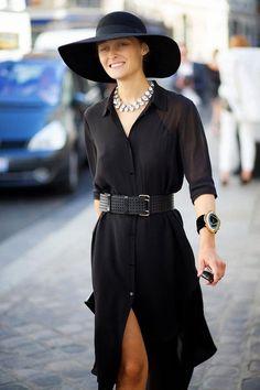 Gardrop Kedisi: Paris Moda Haftası 2015 Bahar/Yaz Sokak Modası