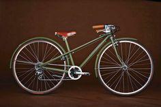 Un ejemplo del maestro artesano Sacha White de Vanilla Bicycles en Portland, Oregon.