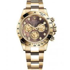 Rolex Cosmograph Daytona 116523 Gold & Stainless Steel Watch (Blue) | World's Best
