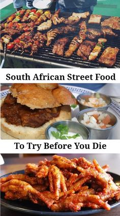 There are so many delicious South African street food dishes that you simply must try when you visit and this article is about the best of them! South African Dishes, South African Recipes, South African Braai, South African Desserts, Foodie Travel, Food Dishes, Food And Drink, Dinner, Cooking