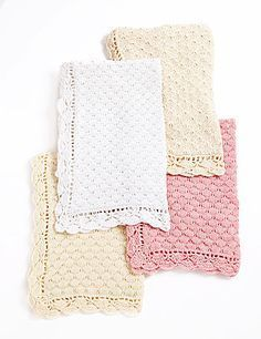 Free Knitting Patterns Baby Blankets on Free Knitting Pattern Century Baby Blanket Knitting For Kids, Baby Knitting Patterns, Crochet For Kids, Free Knitting, Crochet Baby, Soft Baby Blankets, Knitted Baby Blankets, How To Purl Knit, Baby Scrapbook