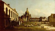 Bernardo Bellotto, Neumarkt in Dresden, 1747 - Augustus III of Poland - Wikipedia Fine Art Prints, Canvas Prints, Thing 1, Best Canvas, Museum, Art Database, Plant Illustration, Classical Art, Japanese Prints