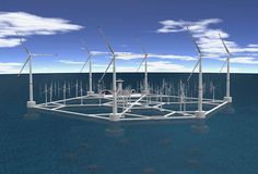 Malta is considering a proposal by the Swedish company Hexicon to build the world's largest floating wind farm. It would consist of 36 turbines arranged around a 460-meter-wide platform, tethered to the ocean floor by cables. The proposed site for the platform is 11 nautical miles off the island's northeast shore. It would be far enough away to take advantage of high ocean winds yet close enough that it could be connected to the country's electricity grid without too much trouble.