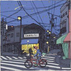 swaaarm: Shinji Tsuchimochi - 100 Views of Tokyo