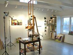 Susan Abbott Studio News: Studio Views