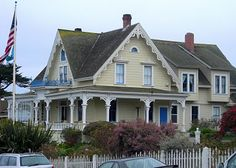 I am going to miss the heritage house on Mendocino Coast Northern