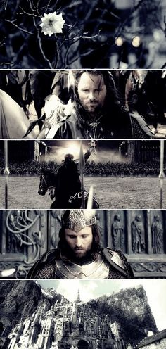 Aragorn: Put aside the Ranger. Become who you were born to be. #lotr