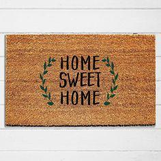 Home Sweet Home Doormat Welcome Mat Outdoor Rug Home