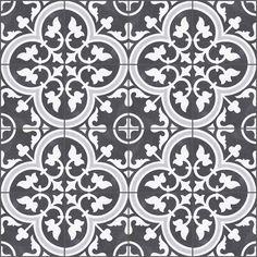 Hill Ceramics Alhambra black Klinker Svart 25x25 cm