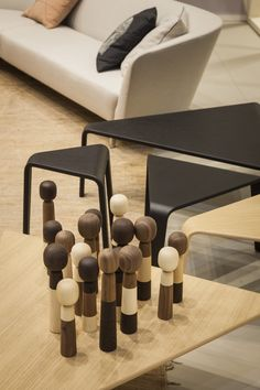 Ply tables collection by Lievore Altherr Molina Arper Milan 2013