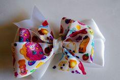 Shopkins Hair Bow Shopkins Pinwheel Hair by RachelsHairBowtique