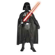 Kids' Deluxe Darth Vader Costume - Medium