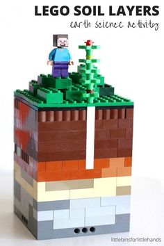 LEGO Soil Layers Activity Kid's Earth Science STEM