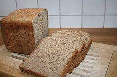Buttermilch-Mehrkornbrot für den Brotbackautomat