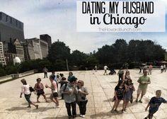 Dating my Husband in Chicago. Millenium Park, HarpoStudios, Wishbone Restaurant, Willis Tower Sky Deck, and Giordano's for Deepdish Pizza