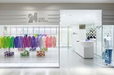 24 ISSEY MIYAKE Hakata | Project Location: Fukuoka, Japan | Firm: Moment, Tokyo, Japan | Category: Retail | Award: Global Excellence Awards Best of Category Winner