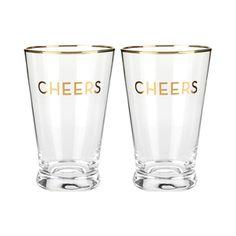 Full of Cheer Pint Glass - Set of 2