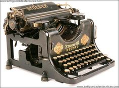 Máquina de escribir Stoewer. 1915
