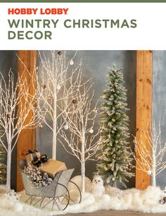 Create the perfect wintry wonderland in your home with accent pieces from your favorite Christmas collections. Winter Window Display, Seasonal Decor, Holiday Decor, Jolly Holiday, Country Christmas, Hobby Lobby, Accent Pieces, Winter Wonderland, Ladder Decor