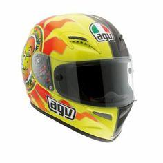 AGV - Grid Rossi Sun & Moon Full-Face Motorcycle Helmet - Full-Face - Helmets - Street - CycleGear - Cycle Gear