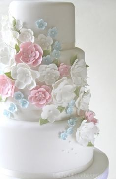 Wedding Cakes - not sure whos work