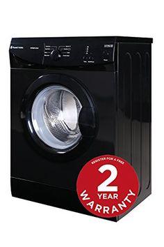 Russell Hobbs RHWM612B-M 6kg 1200 spin Black Washing Machine - Free 2 Year Warranty* - http://domesticcleaningsupplies.co.uk/product/russell-hobbs-rhwm612b-m-6kg-1200-spin-black-washing-machine-free-2-year-warranty/