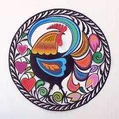 Studio Kaleta: Scissor paper cutouts – traditional Polish folk art designs with…