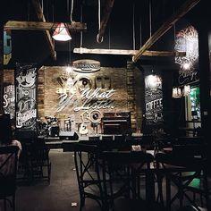 Typograf cafe - 99 Lê Duẩn Hà Nội. Photo by @linhtong1991 #ncchanoi #nhacuacoffeeholic by nhacuacoffeeholic