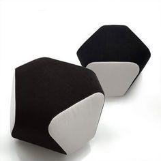 Contemporary pouf MARI by Toshiyuki Yoshino ferlea