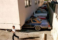 Northridge earthquake of A row of cars is crushed beneath a collapsed apartment building in Canoga Park. Northridge Earthquake, Jerry Brown, Canoga Park, San Fernando Valley, San Jacinto, City Buildings, Natural Disasters, Challenges, History