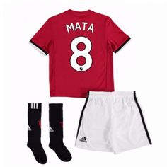 Manchester United Home Mini Kit with Young 18 printing: Manchester United Home Mini Kit with Young 18 printing with Young… Neymar, Messi, Ashley Young, Manchester United, Paul Pogba, Ronaldo, 18th, The Unit, Swimwear