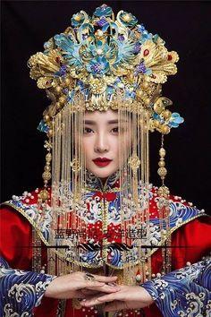 Asian Style, Chinese Style, Chinese Art, Chinese Bride, Hanfu, Cheongsam, Oriental Fashion, Asian Fashion, High Fashion