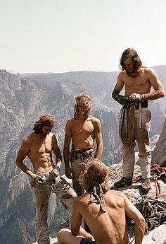 Early Yosemite climbers